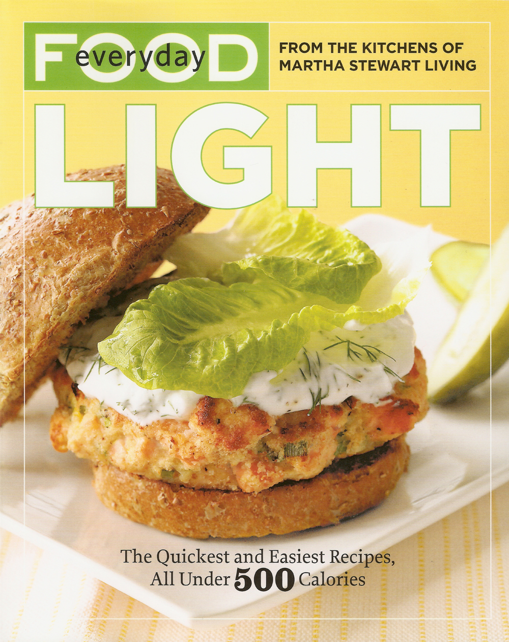 Salmon Burgers with Yogurt-Dill Sauce (Low fat)