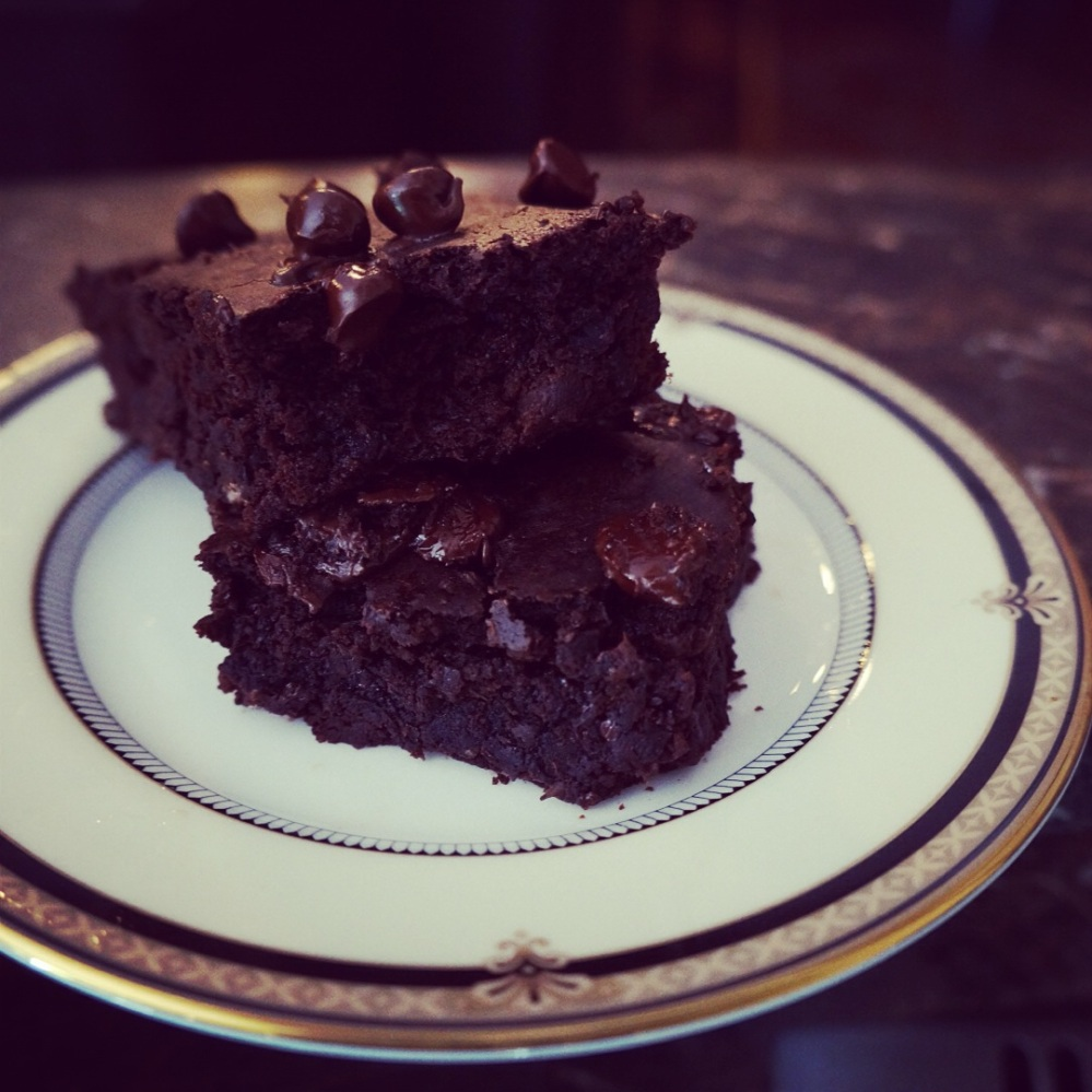 Black-bean brownies Insta