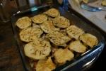 Eggplant layering 1
