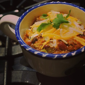 Chili final bowl only
