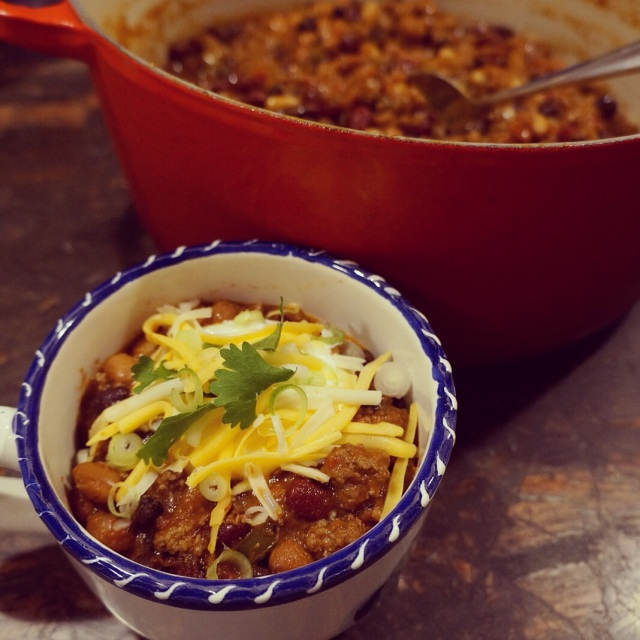 4-Bean Chili con Carne