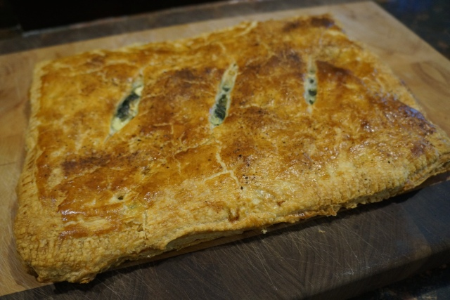 Mediterranean Spinach and Tenerumi pie with Dill and Feta