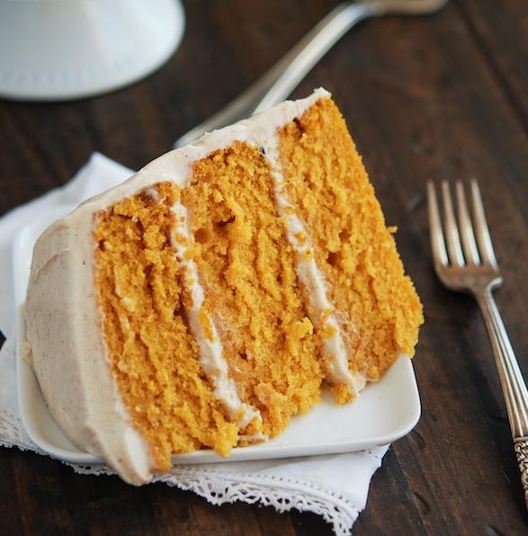 Pumpkin dream cake