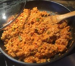 Quinoa sauce
