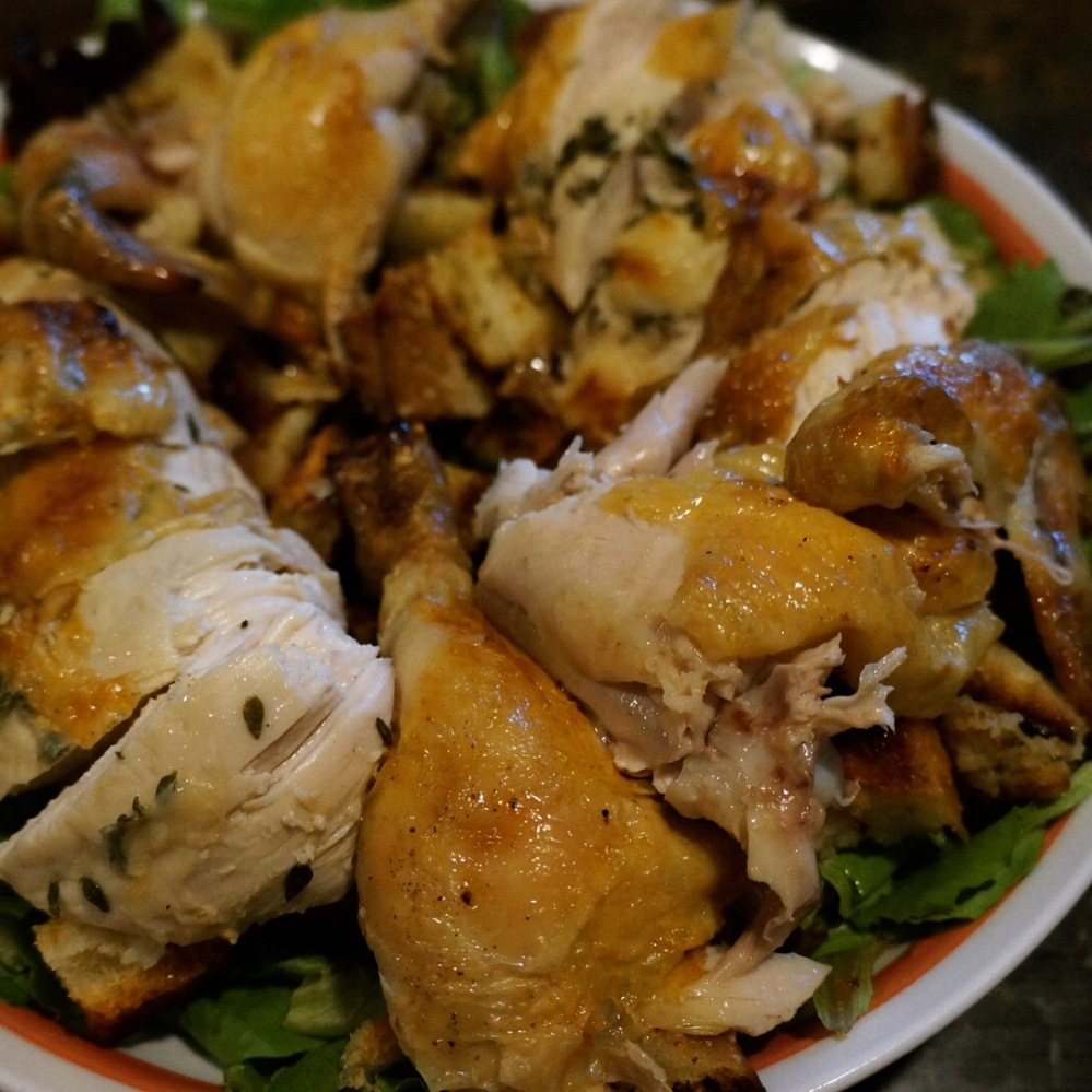 Chicken and Croutons