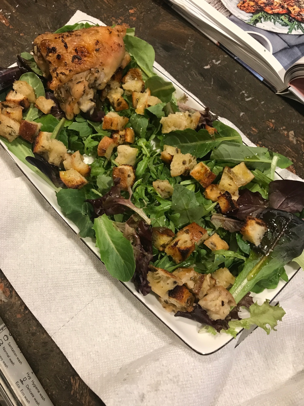 Zuni Chicken serving plate